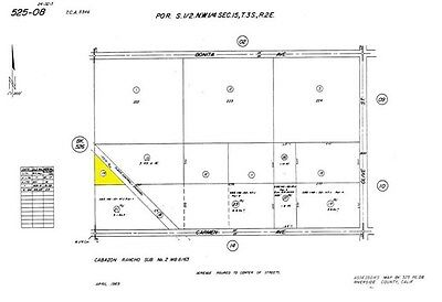Great Opportunity to Own Land in Southern California