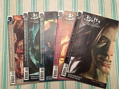 BUFFY THE VAMPIRE SLAYER LOT OF 5 DIFFERENT COMIC BOOKS