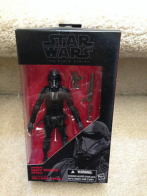 Star Wars the Black Series IMPERIAL DEATH TROOPER 6 Action Figure Rogue One