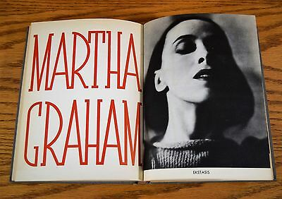 Martha Graham vintage 1937 Book w Photos by Merle Armitage Hardcover  RARE