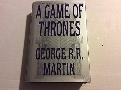 George R R Martin  A GAME OF THRONES   Hardcover Book Club Edition
