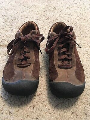 Womens Keen Brown Leather Shoes Size 6