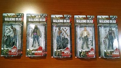 McFarlane Toys - The Walking Dead - TV Series 3 Action Figures Set of 5