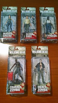 McFarlane Toys - The Walking Dead - TV Series 5 Action Figures Set of 5