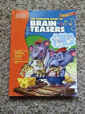 The Complete Book of Brain Teasers Grade 3-5
