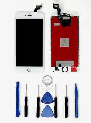 LCD Screen Replacement for iPhone 6s Plus White - WFree Shipping from USA