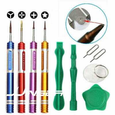 Repair Opening Pry Tools Screwdriver Kit Set Cell Phone iPhone X XR XS 8 7 6 5 4