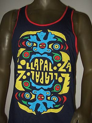 New Mens S M XL Lollapalooza Summer Music Festival Concert Bands Tank Top Shirt