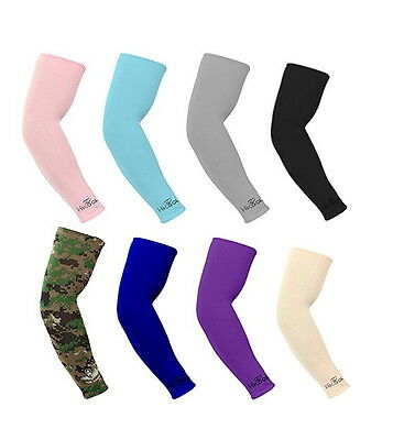 8 Pairs16 pieces Cooling Arm Sleeves Cover UV Sun Protection Basketball Sport