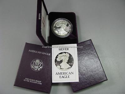 1986 S Proof Silver American Eagle Dollar US Mint 1 ASE Coin