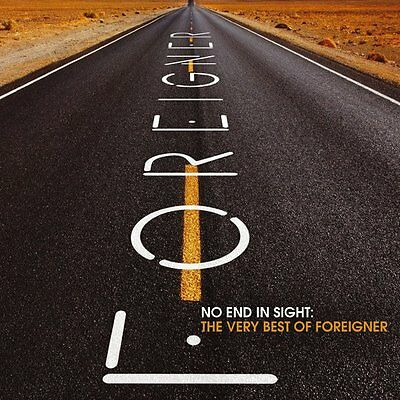 No End In Sight The Very Best Of Foreigner - Foreigner 2 CD Set Sealed  New