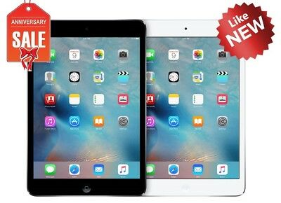 Apple iPad Mini 2 WiFi GSM Unlocked I 16GB 32GB 64GB 128GB I Gray Silver