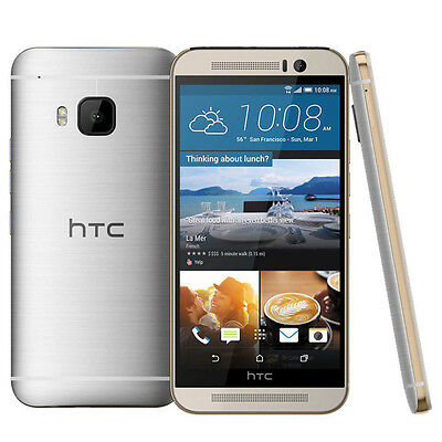 HTC One M9 32GB Gold on Silver Factory Unlocked 50 Zoll Smartphone Android