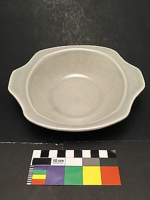 Paden City Gray Minion Lug Handle Lugged Cereal Bowl 7-18 Russel Wright