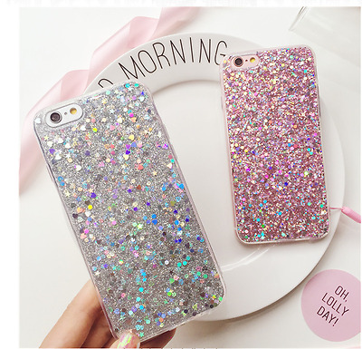 Luxury Bling Glitter Soft Silicone Case Cover For Samsung Galaxy S7  S7 Edge