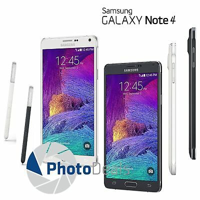 Samsung Galaxy Note 4 N910T 32GB 5-7 4G LTE Factory Unlocked Smartphone