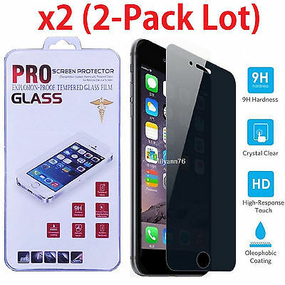 Privacy Anti-Spy Tempered Glass Screen Protector for iPhone 6  6s  4-7