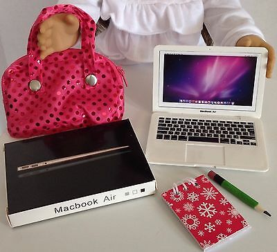 Laptop Computer for American Girl Doll 18 Accessories SET