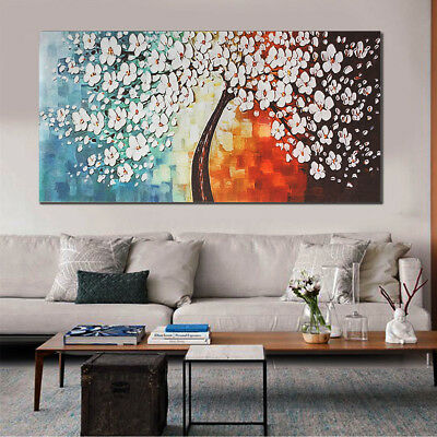 48 Unframe Wall Art Canvas Print Flowers Colorful Picture Home Decor Painting