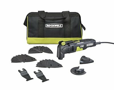 Rockwell RK5132K 3-5 Amp Sonicrafter F30 Oscillating Multi-Tool Kit with Blades