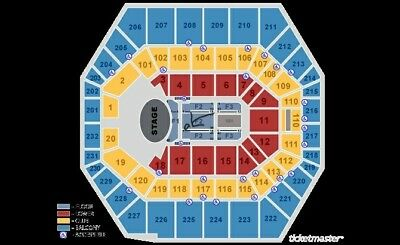 2 FLOOR tickets F2  ROW 4 Garth Brooks 10817 730 pm Indianapolis IN