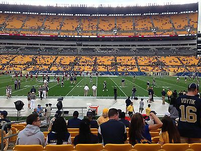 2 Pitt Pittsburgh Panthers tickets vs- Rice Owls - 93017 - Gold 4 Parking Pass