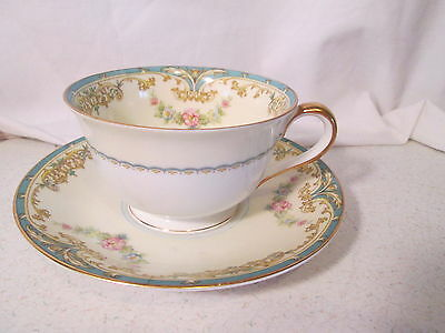 Noritake Elroy 66219 Cup and Saucer 1930s
