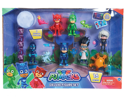 Just Play PJ Masks Deluxe Figure Set Toy Figure Includes Ninjalinos