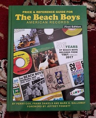 Beach Boys HERE IT FINALLY IS THE ALL NEW BEACH BOYS PRICE GUIDE STANDARD ED-
