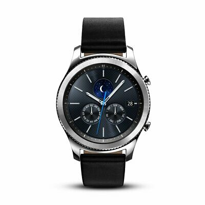 Samsung Gear S3 Classic 46mm Bluetooth Smartwatch Dark Gray Open Box Condition