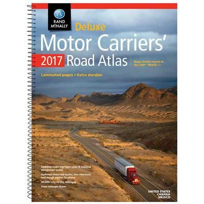 2017 Rand McNally Deluxe Motor Carriers Atlas