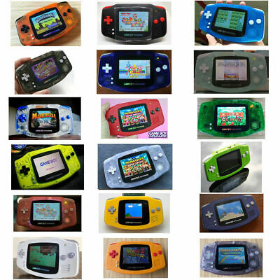 Nintendo Game Boy Advance GBA AGS 101 Brighter Mod Backlit Pick Shell - Buttons