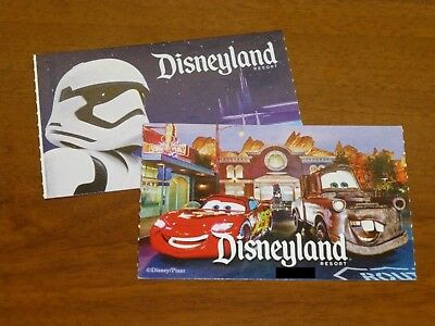 TWO 2-day 1 park per day DisneylandCA Adventure tickets  passes -exp- 91518