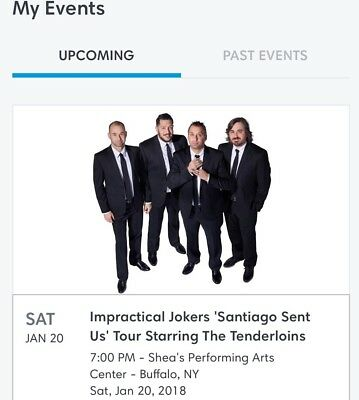Impractical Jokers Tickets Buffalo 12018