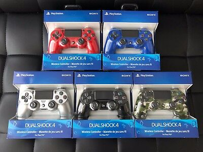 GEN 2 LATEST Sony PlayStation 4 PS4 Dualshock 4 Wireless Controller BLACK BLUE