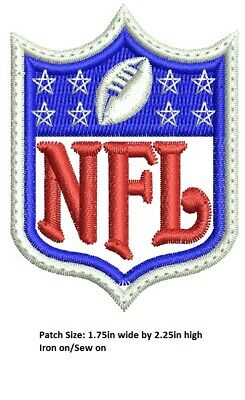 LOVE IT OR ITS FREE Logo NFL EMBROIDERED PATCH FREE SHIP USA SELLER