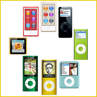 Apple iPod Nano 1st 2nd 3rd 4th 5th 6th 7th 8th Generation4GB 8GB 16GB