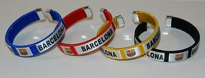 FC BARCELONA BRACELET 4 COLORS AVAILABLE - FREE SHIPPING
