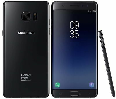 Samsung Galaxy Note FE SM-N935FDS Black FACTORY UNLOCKED 5-7 64GB 4GB RAM