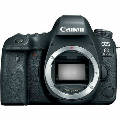 Canon EOS 6D Mark II Digital SLR Camera Body Only
