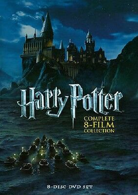 New - Sealed Harry Potter Complete 8 Film Collection DVD Box Set