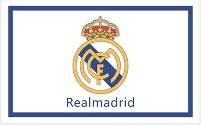 Real Madrid Flag Banner 3x5 ft Spain Soccer White New Futbol Club Spanish