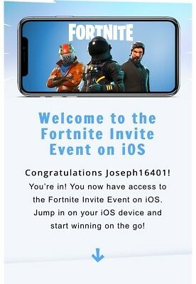 Fortnite Battle Royale Mobile iOS Friend Code