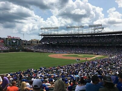 4 Chicago Cubs vs Pirates Tickets 92418 Sec 202 Lowers NO POLES