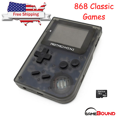 Retro Mini GBA 2 Handheld Game 908 built-in Gameboy Advance Games USA Shipping