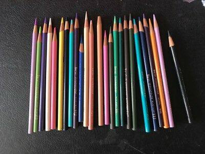 Vintage 1986 BEROL PRISMACOLOR Thick Colored Pencils—Misc Colors