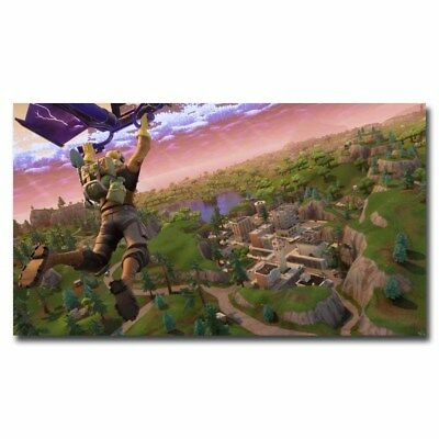 Fortnite Battle Royale 24x42inch Game Banner Silk Poster Cool Gifts Large Size
