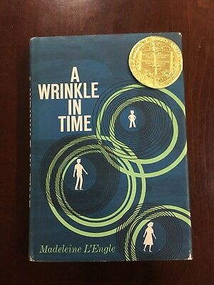 A Wrinkle in Time Signed with Unique AUTHOR PHOTO