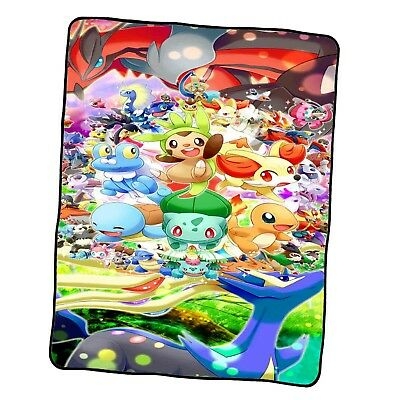 all pokemon Fusion and Pokemon Funny Blanket Custom Fleece Blanket
