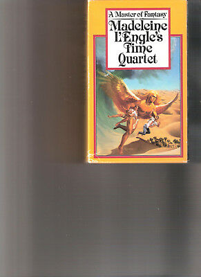 MADELEINE LENGLE - Time Quartet -Boxed Set 4 Vols- A Wrinkle in Time